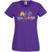 T-shirt Merci Maîtresse Violet. n°1