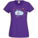 T-shirt Super Maman Nuage - Pourpre. n°1