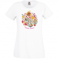 T-shirt Maman d'Amour - Blanc