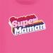 T-shirt Super Maman - Rose. n°2