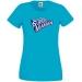 T-shirt Super Maman - Bleu azur. n°1