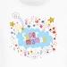 T-shirt Super Maman Nuage - Blanc. n°2