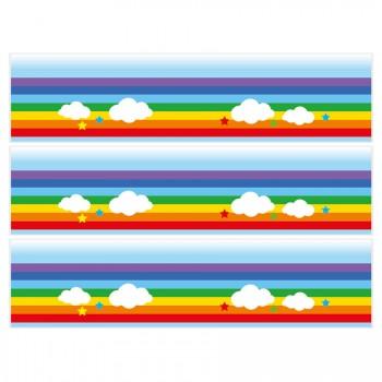 Contours de gâteaux en sucre - Rainbow