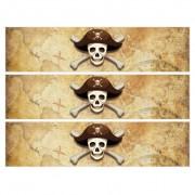 Contours de gâteaux en sucre - Pirate l'Ile Fantôme
