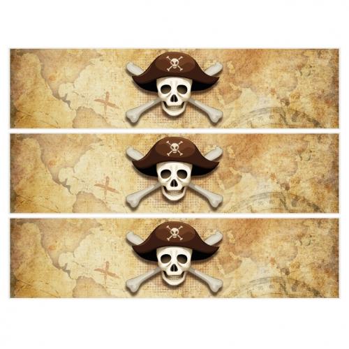 Contours de gâteaux en sucre - Pirate l Ile Fantôme