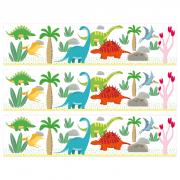Contours de gâteaux en sucre - Dino Colors