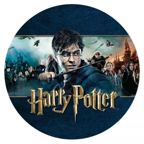 Disque en sucre Harry Potter - Saga (19 cm)