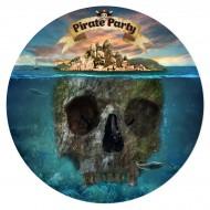 Disque en sucre Pirate l'Ile Fantôme (19 cm)