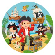 Disque en sucre P'tit Pirate (19 cm)