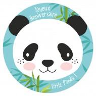 Disque en sucre Little Panda (19 cm)