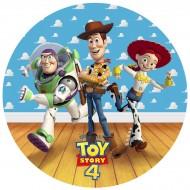 Disque en sucre Toy Story 4 (19 cm)