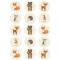 24 Personnalisé Anniversaire Autocollants Étiquettes prêt à Pop Baby Shower 40 mm