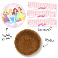 Kit Gâteau Princesses Disney
