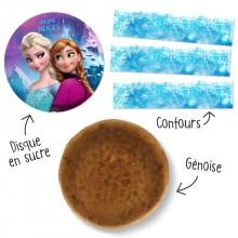 Kit Gâteau Reine des Neiges