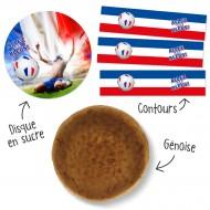 Kit Gâteau Allez les Bleus