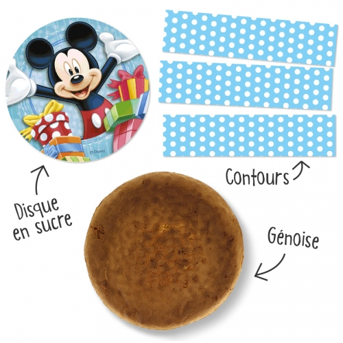 Kit Gâteau Mickey