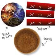 Kit Gâteau Star Wars - Avec génoise nature