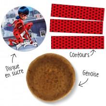 Kit Gâteau Ladybug
