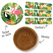 Kit Gâteau Tropical