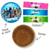 Kit Gâteau Fortnite
