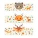 6 Ronds de serviettes Animaux de la Forêt - Recyclable. n°2