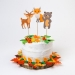 Cake Toppers Animaux de la Forêt - Recyclable. n°3