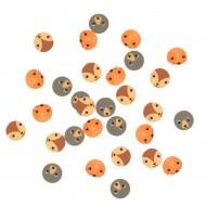 Confettis Animaux de la Forêt - Recyclable