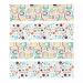 6 Ronds de serviettes Rainbow Dots - Recyclable. n°2
