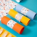 6 Ronds de serviettes Rainbow Dots - Recyclable. n°3