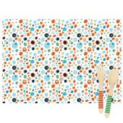 6 Sets de table Dots - Recyclable