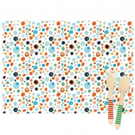 6 Sets de table Dots - Recyclable