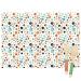 6 Sets de table Dots - Recyclable. n°1