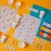 6 Sets de table Dots - Recyclable. n°2