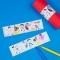 6 Ronds de serviettes Pirate Color - Recyclable images:#2