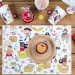 6 Sets de table Pirate Color - Recyclable. n°4
