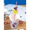 6 Pailles en papier Pirate Color - Recyclable images:#1