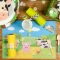 6 Sets de table Animaux de la Ferme - Recyclable images:#1