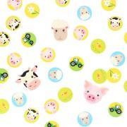 Confettis Animaux de la Ferme - Recyclable