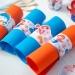 6 Ronds de serviettes Sirène Corail - Recyclable. n°2