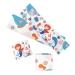 6 Ronds de serviettes Sirène Corail - Recyclable. n°3