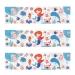 6 Ronds de serviettes Sirène Corail - Recyclable. n°4