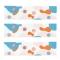 6 Ronds de serviettes Sirène Corail - Recyclable images:#4