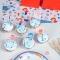 6 Sets de table Sirène Corail - Recyclable images:#1