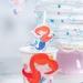 6 Pailles en papier Sirène Corail - Recyclable. n°3