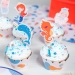 Kit Cupcakes Sirène Corail - Recyclable. n°2