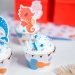 Kit Cupcakes Sirène Corail - Recyclable. n°3