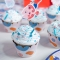 Kit Cupcakes Sirène Corail - Recyclable images:#3