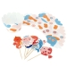 Kit Cupcakes Sirène Corail - Recyclable. n°5