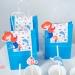 6 Sacs Cadeaux Sirène Corail - Recyclable. n°3