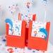 6 Sacs Cadeaux Sirène Corail - Recyclable. n°6